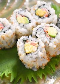『元寿司職人の「カリフォルニアロール」』