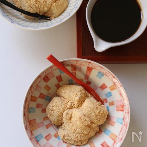 わらび餅粉を使わない ぷるぷるわらび餅