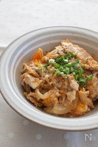 『お豆腐たまご丼』#ヘルシー#夜食にも