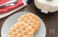 豆腐米粉ワッフル♪卵なし小麦粉なし乳なし!幼児食にも