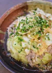 『無水de煮る♡Wの旨味がたまらない♡キャベツと豚肉の重ね煮♡』
