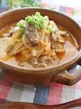 キムチチゲ風スープ