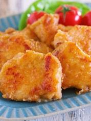 漬けて焼くだけ♪ご飯がすすむ♪『むね肉のやわらか生姜焼き』