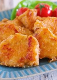『漬けて焼くだけ♪ご飯がすすむ♪『むね肉のやわらか生姜焼き』』