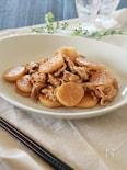 豚こまと長芋のマヨソース炒め