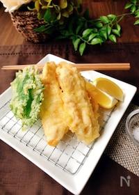 『生姜をたっぷり♪鶏むね肉の塩天ぷら』