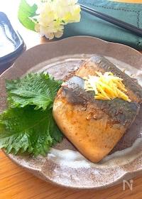 『オイスターソースが隠し味♡フライパンで鯖の甘辛煮』
