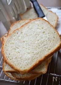 『ふわっふわで甘味たっぷり♡HBで作る♡ハニーオーツ風食パン♡』