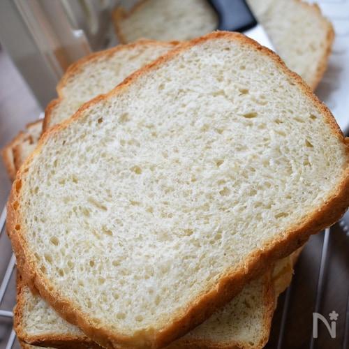 ふわっふわで甘味たっぷり♡HBで作る♡ハニーオーツ風食パン♡