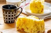 レンジとタッパーで簡単♡かぼちゃ蒸しパン
