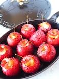 トースターで簡単!シナモン香るかわいい焼きりんご