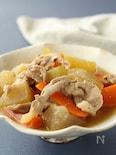 冬瓜と豚こまの味噌煮★フライパンで簡単煮物