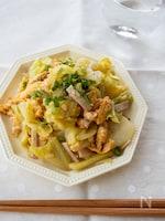 『キャベツと炒り卵の中華風和え』#簡単#お弁当#作り置き