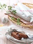 ホイルケーキ チョコスティック 子供と作るバレンタイン