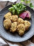 カロリーオフ!鶏むね肉のパン粉焼き【おつまみ】【お弁当】
