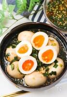 【史上最高】白飯が止まらい無限ニラ漬け煮卵!