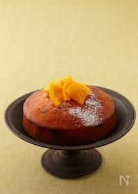 """『【コウケンテツ""""適糖生活""""レシピ】プルーンとオレンジのケーキ』"""