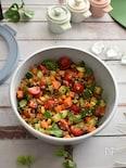レッド&ホワイトキヌアのサラダ