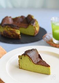 『抹茶のバスクチーズケーキ』