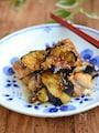 鶏もも肉と茄子の甘辛炒め【作りおき】