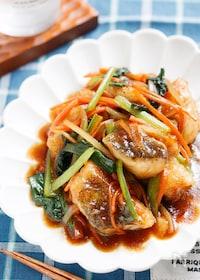 『たらの中華風♡たっぷり野菜あんかけ【#とろみづけ不要】』