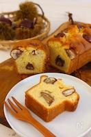 渋皮煮で作る♪栗のパウンドケーキ