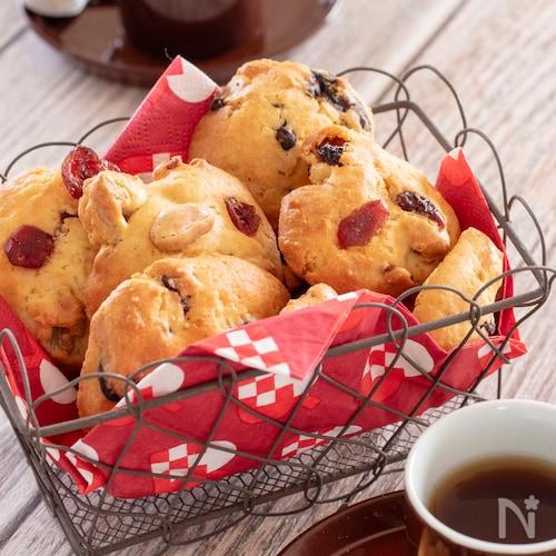 スプーンで楽々!ホットケーキミックスで簡単クッキー
