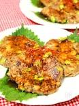サバ缶と焼き肉のタレdeサバ入り豆腐ハンバーグ