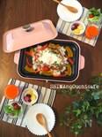 冷ごはんと残ったカレーで絶品朝ご飯!チーズと野菜の焼きカレー