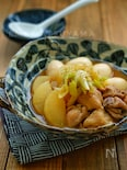 簡単!ほっこり!*鶏肉と大根と卵の煮物*めんつゆで簡単!