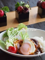 ハワイアン☆ロコモコ☆ハンバーグ丼