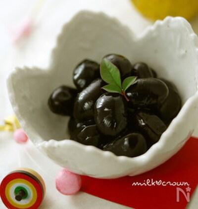 圧力鍋 黒豆