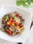 豚肉と夏野菜の生姜焼き風炒め