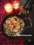 秋鮭ソテー キノコとレンコンの秋のジャポネソース