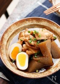 『鶏肉とこんにゃくの甘辛煮【#作り置き#お弁当#煮るだけ】』