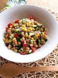 スプーンでモリモリ食べられるサラダ
