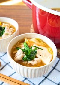 『旨味凝縮♡キムチスープ』