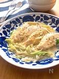 めっちゃヘルシー♡白身魚のナンプラークリーム