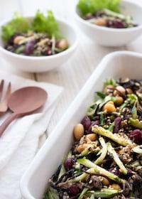『【作り置きOK】栄養豊富で美味しい!ひじきと豆のデリ風サラダ』