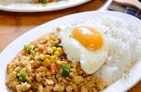 身近な食材・調味料で作る♪『節約☆豆腐と鶏ひき肉のガパオ風』