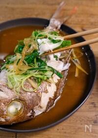 『簡単中華風蒸し魚(清蒸魚)』