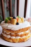 ♡フルーツネイキッドケーキ♡