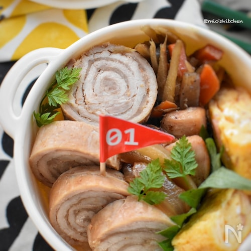 レンジde簡単♡豚ロース薄切り肉で作る♡簡単チャーシュー♡