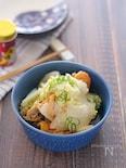 白菜とベビーホタテのさっと煮