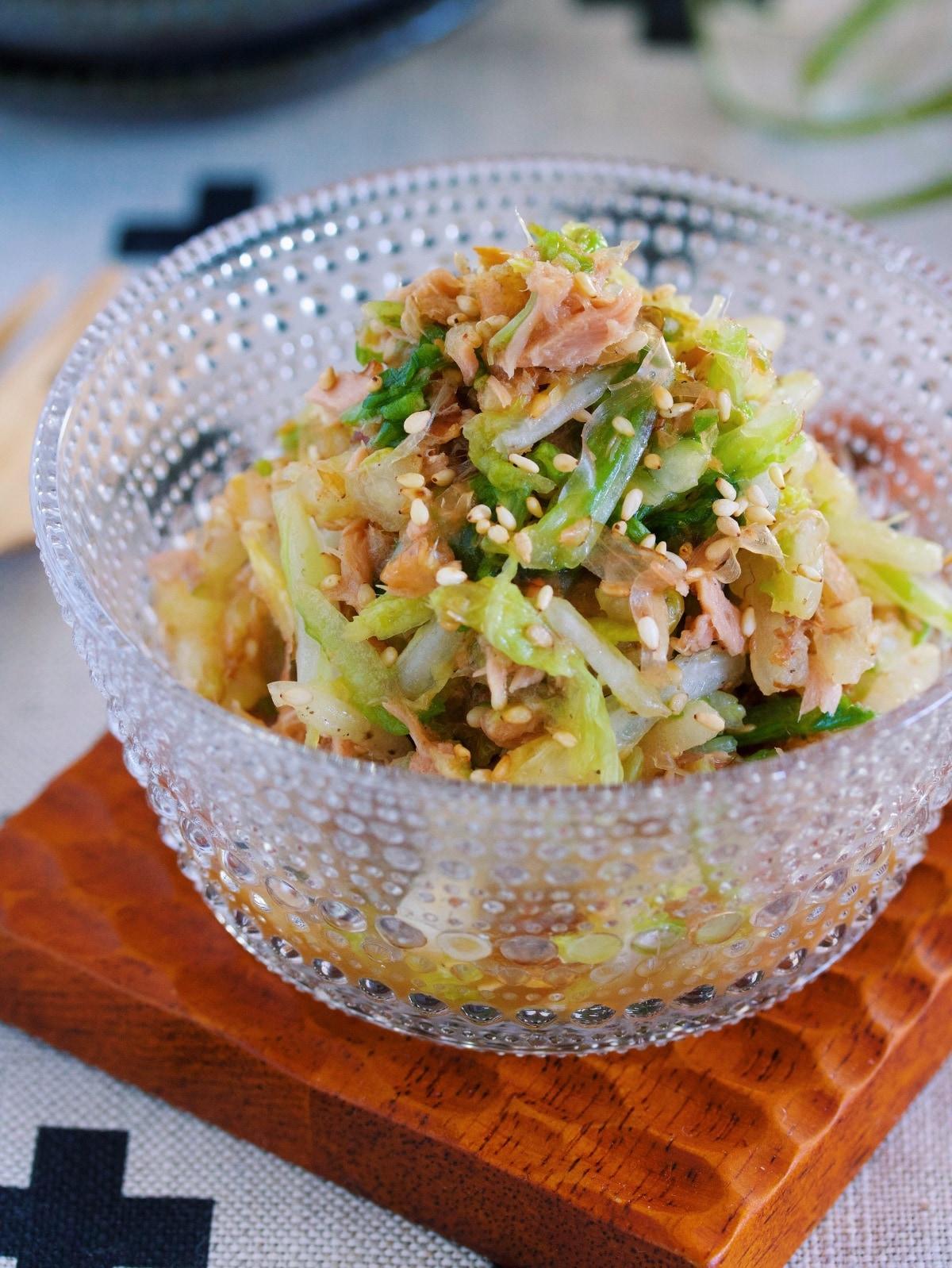 無限に食べれる♪『白菜とツナのおかかポン酢あえ』 by Yuu