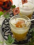 かぼちゃのクリチ入り簡単♡エッグスラット風♡コンソメ味で旨い