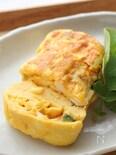 タルタルソース入りのふわとろ卵焼き