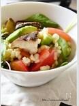 トマトとアボカドのもち麦サラダ