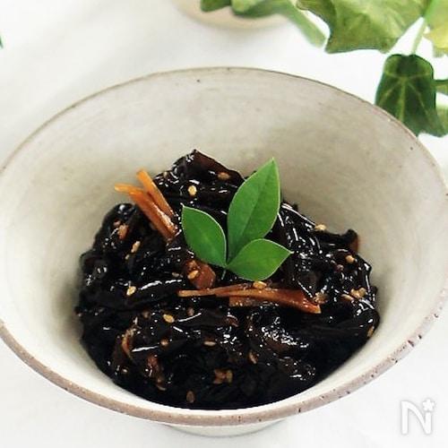 生きくらげと新生姜の佃煮風