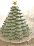 シナモン香る☆クリスマスクッキーツリー